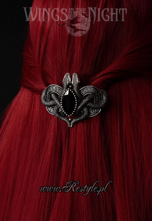 RESTYLE Gothic Snakes of Avalon Hair Clip